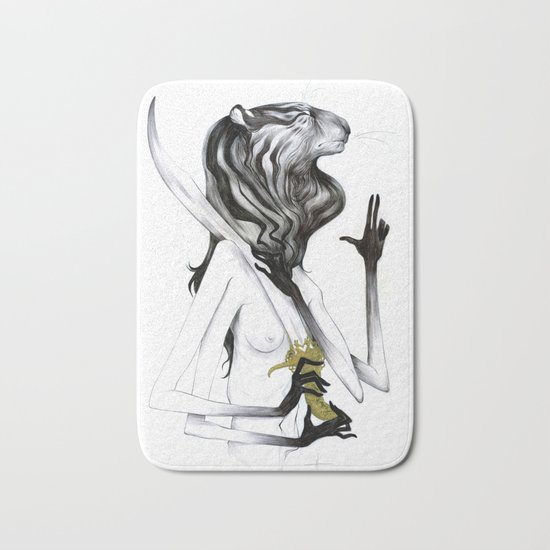 A Forest's Guardian 2 Bath Mat