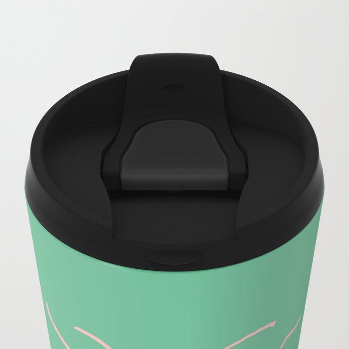 arthropod aqua Metal Travel Mug