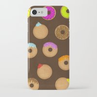 donuts iPhone & iPod Cases featuring Donuts by Reg Silva / Wedgienet.net