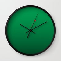 cup Wall Clocks featuring cup by papadopoulou gesthimani