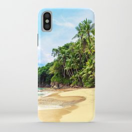 Tropical Beach - Landscape Nature Photography iPhone Case