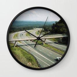 Interstate 68 2 Wall Clock