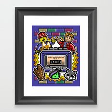 Everything is Awesome Mix Vol. 1 Framed Art Print