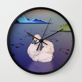 There as sound as possible Wall Clock