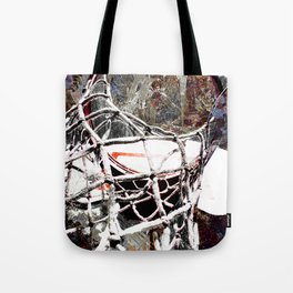 Basketball art swoosh vs 45 Tote Bag