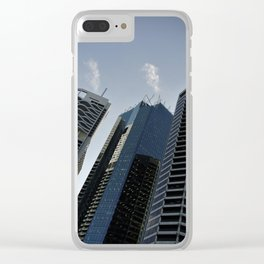 Urban Jungle - Brisbane Edition Clear iPhone Case