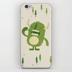 the tree muncher iPhone & iPod Skin