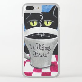 Witches Brew Clear iPhone Case