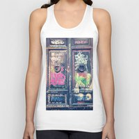 doors Tank Tops featuring doors by dillon hesse