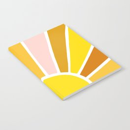 Sun Ray Burst Notebook
