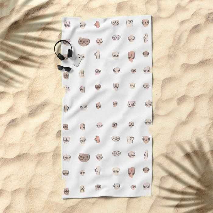 boobs Beach Towel