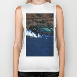 Columbia River Barge Biker Tank