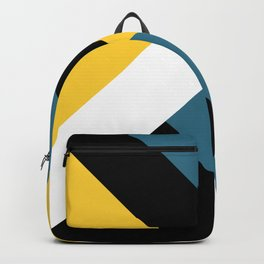 Triangles and stripes Backpack