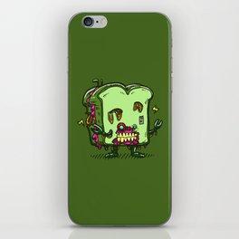 Zombie Sandwich Bot iPhone Skin
