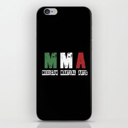 MMA - Mexican Martial Arts iPhone Skin