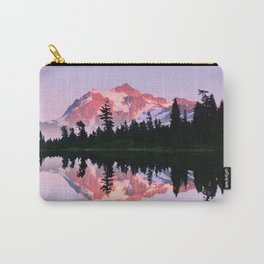 ALPINE SUMMER EVENING SUN ON MOUNT SHUKSAN NORTH CASCADE RANGE Carry-All Pouch