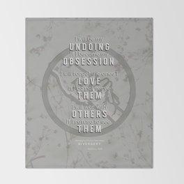 Abnegation Manifesto Throw Blanket
