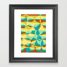 Imperfect Tiles Framed Art Print