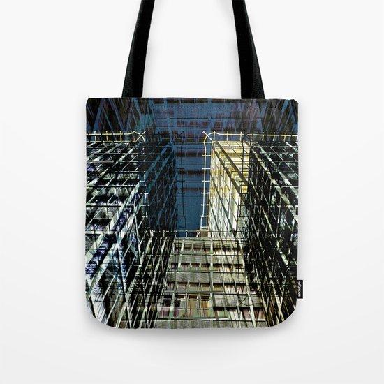 Urban Berlin Facade Tote Bag