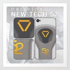 Oblivion Suit Tech 52 Art Print
