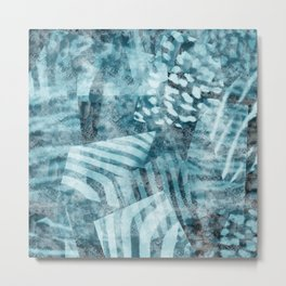 Blue safari Metal Print