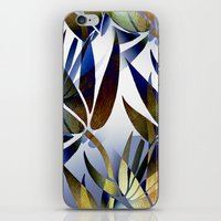 bamboo iPhone & iPod Skins featuring Bamboo by Artisimo