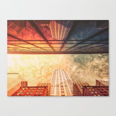 New York City Chrysler Building Up Up and Away Canvas Print