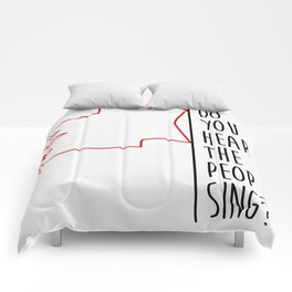 Do You hear The People Sing? - Red Flag? Comforters