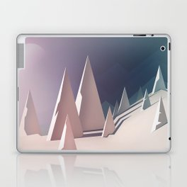 Winter trees landscape Laptop & iPad Skin