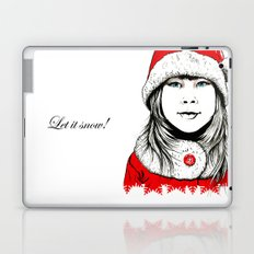 Snow-maiden Laptop & iPad Skin