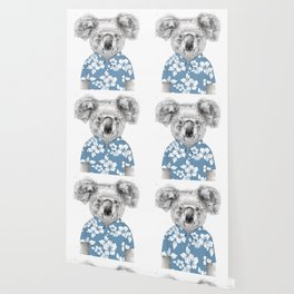 Summer koala (color version) Wallpaper