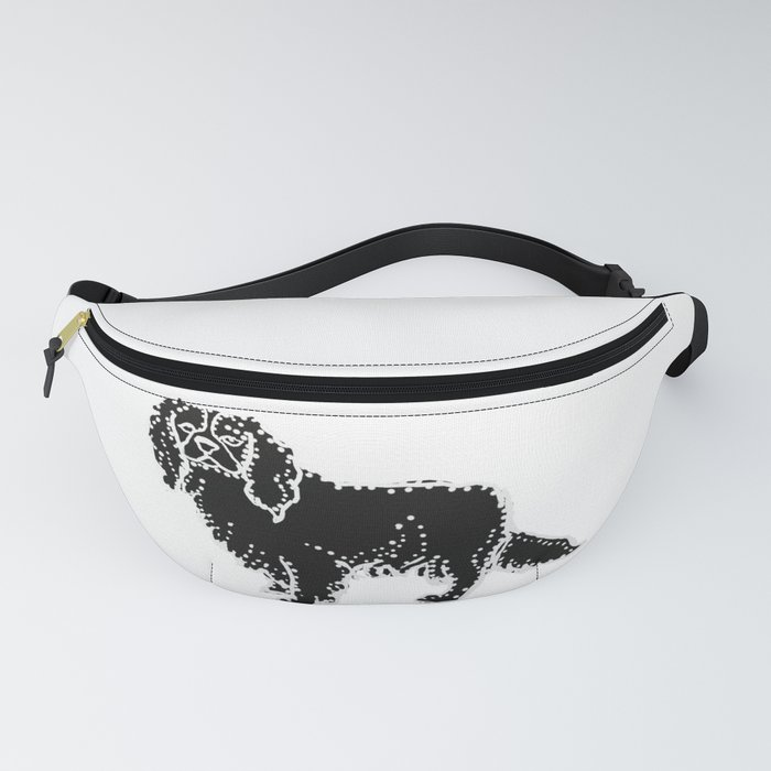 I have Connected the CAVALIER KING CHARLES SPANIEL Doggy Dots! Fanny Pack