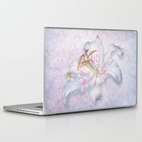 lily Laptop & iPad Skins featuring Lily by Lynn Bolt