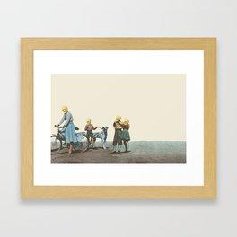 Skull Family  Framed Art Print