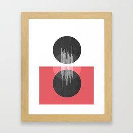 Between Us Framed Art Print