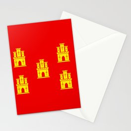 flag of Poitou Stationery Cards