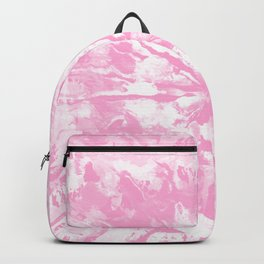 Pastel Pink Tie-Dye Colored Pattern Design // Hand Painted Mandala Multi Media Abstract Backpack