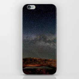 Starry Night Over Mesa Arch iPhone Skin