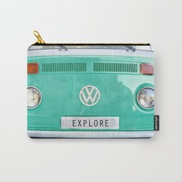 Explore wolkswagen. Summer dreams. Green Carry-All Pouch