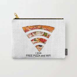 FREE PIZZA AND Wi-Fi Carry-All Pouch