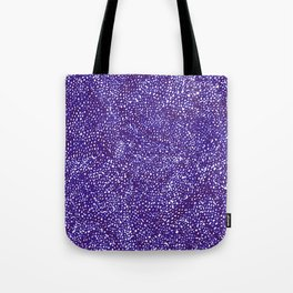 Knitted in Purple Tote Bag