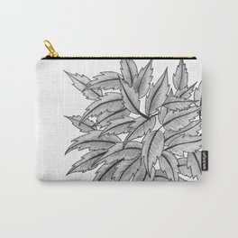 Random Leaves Carry-All Pouch