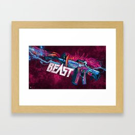 Machine Gun 9 Framed Art Print