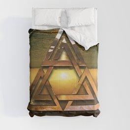 SACRED GEOMETRY - TRINITY 2015 Comforters
