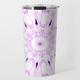 lavender Mandala Explosion Travel Mug