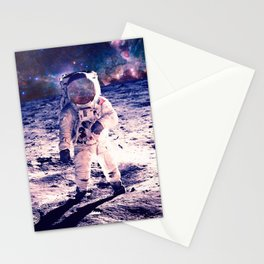 Spacewalk Nebula Stationery Cards