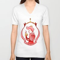 gumball V-neck T-shirts featuring Prince Gumball by Lydia Joy Palmer