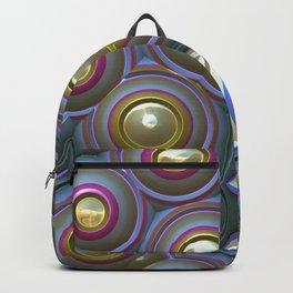 Shiny Circles Backpack