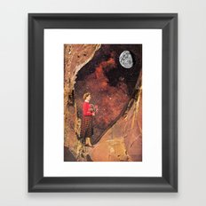 That Was Before Light Pollution Framed Art Print