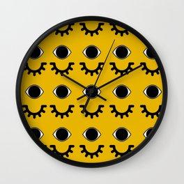 Eyelash Baby Doll Wall Clock